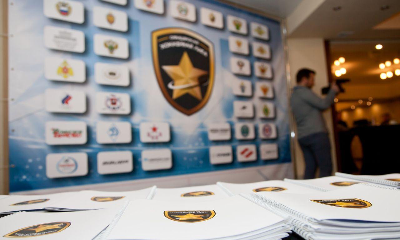 Официальная презентация Офицерской хоккейной лиги в Олимпийском комитете России